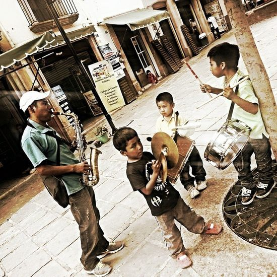 Banda Chiquilins Zacatecas Mexico Plaza liveentertainment talentedkids musicians surviving