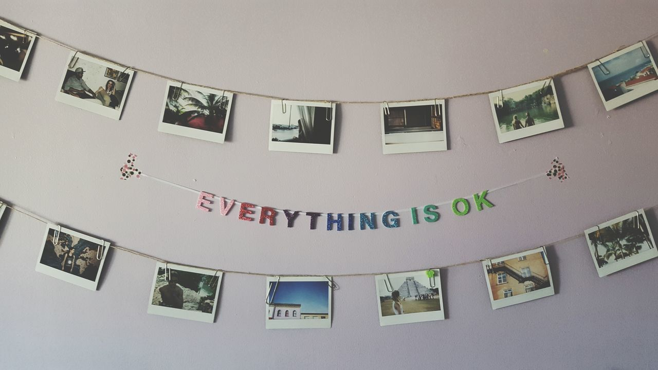 Every Thing Is Ok Polaroid Strings Urban Photography Pale