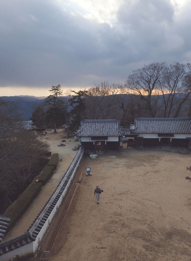 Built Structure High Angle View Japan Matsuyama Matsuyama Castle Nature Outdoors Sun Tourism