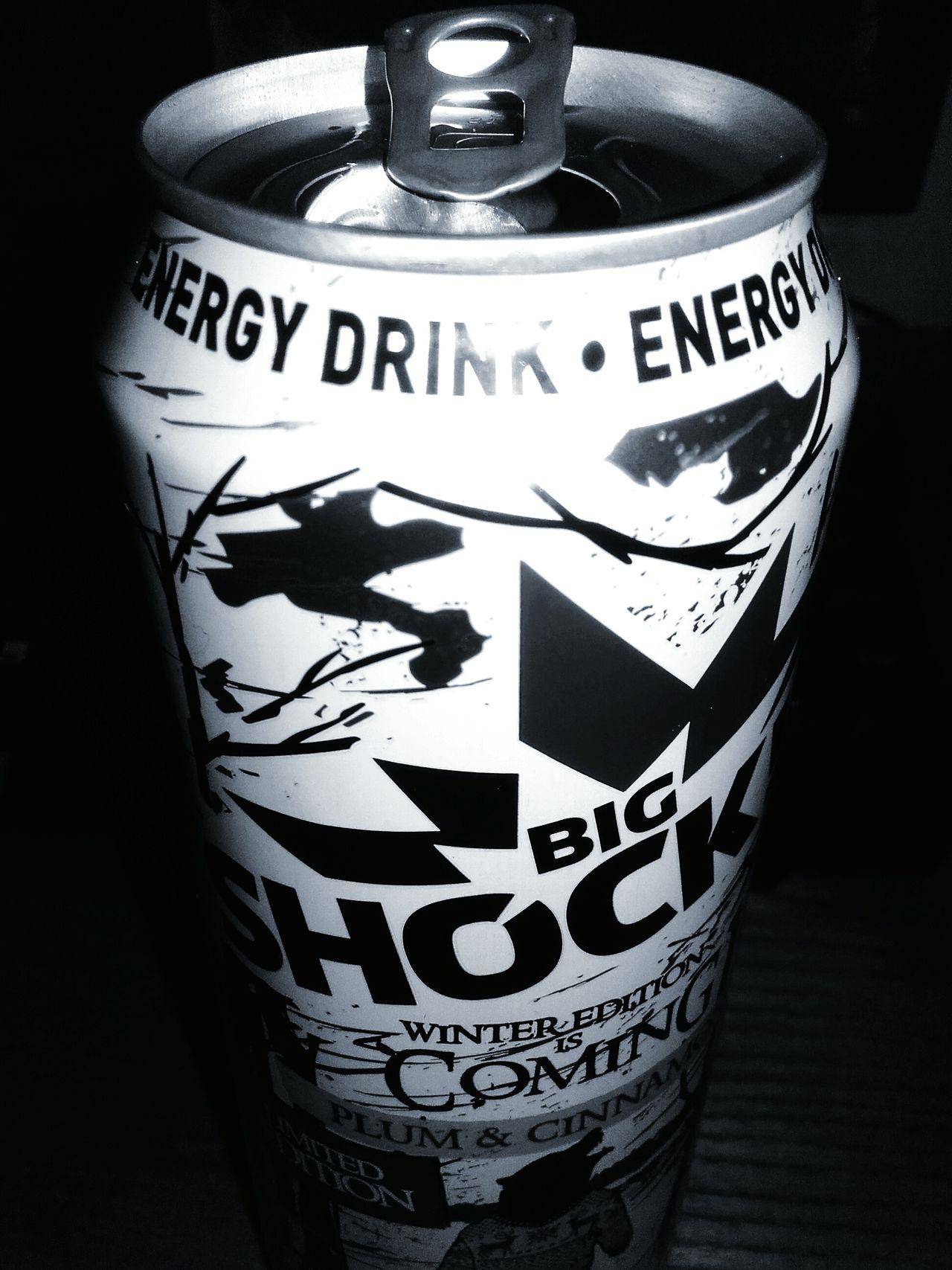 Big Shock! Best energy drink ever Plum Cinnamon BigShock Shock BIG Best Energy Drink Tasty Tasty ! Czech Czech Republic Czechrepublic Cz Day