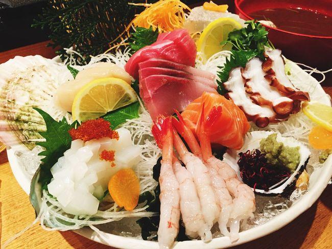 Sashimi Set Sashimi Dinner Sashimilovers Japanesefood Japan Yummy Eating Fishlovers Otoro Freshfood Dinnerset