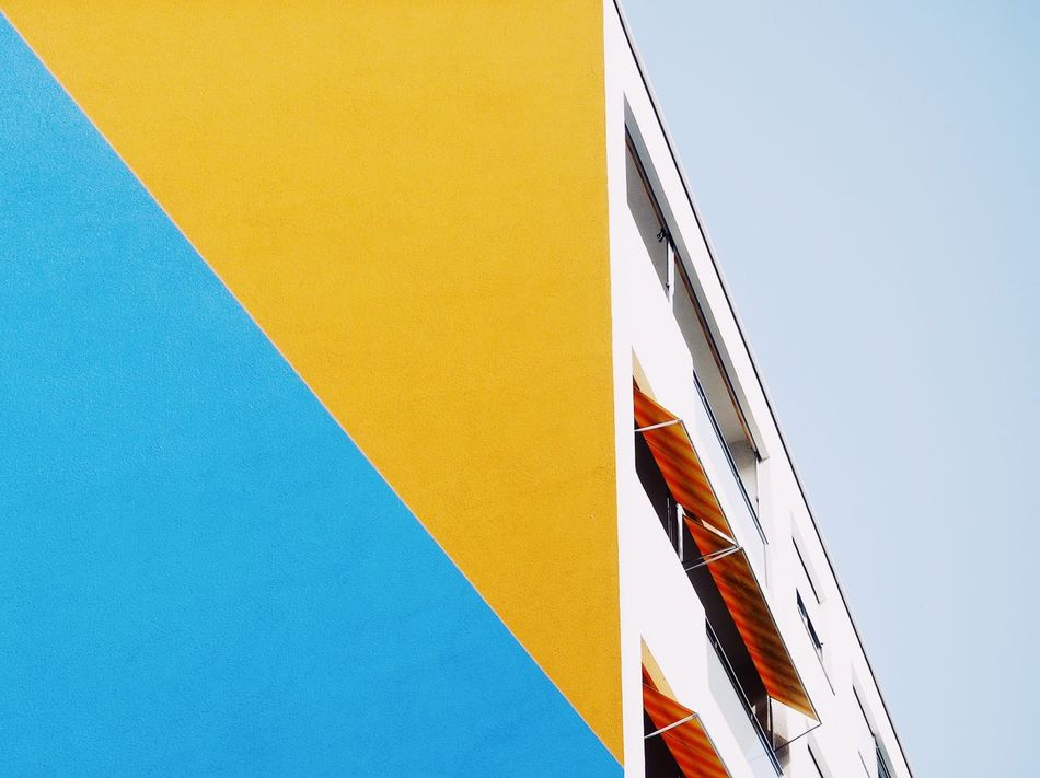 Beautiful stock photos of architecture, flag, patriotism, blue, low angle view