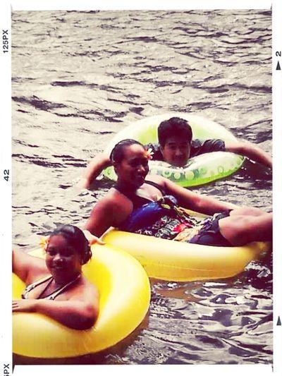 #TBT #friends #coolingOff #riverWater #floaTies #refreShing