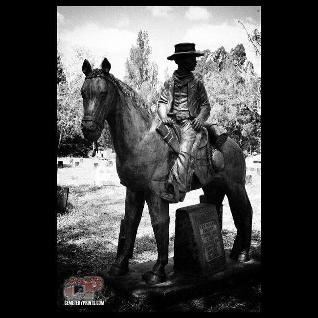 Gunslinger Monochrome Gunslinger  Cemetery Prints Inc Pet Cemetery Cemetery