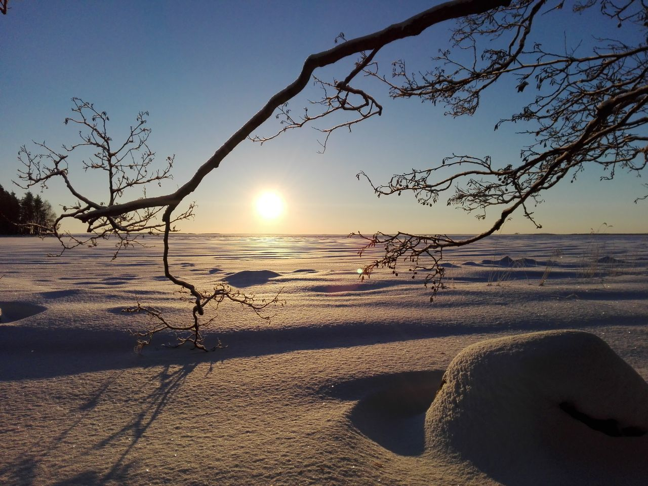 Last winter Sky Sun Nature Landscape Outdoors Beauty In Nature Sunlight Finnish Nature Nature Photography Colourful Something Beautiful Photography Photographer Landscape_photography Winter Landscape Weather Snow