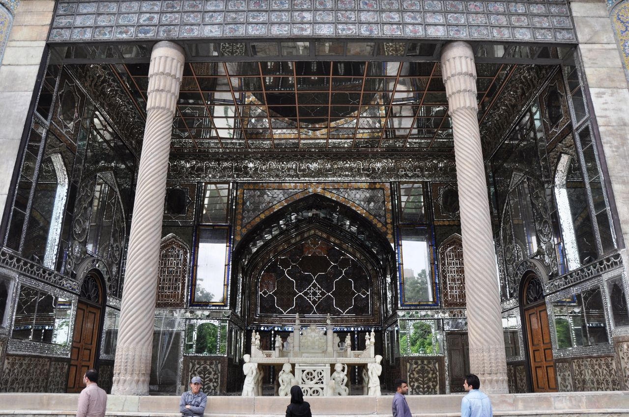 Golestan palace in Tehran Architecture Built Structure Day Golestan Palace Iran Outdoors Palace Tehran Travel Destinations