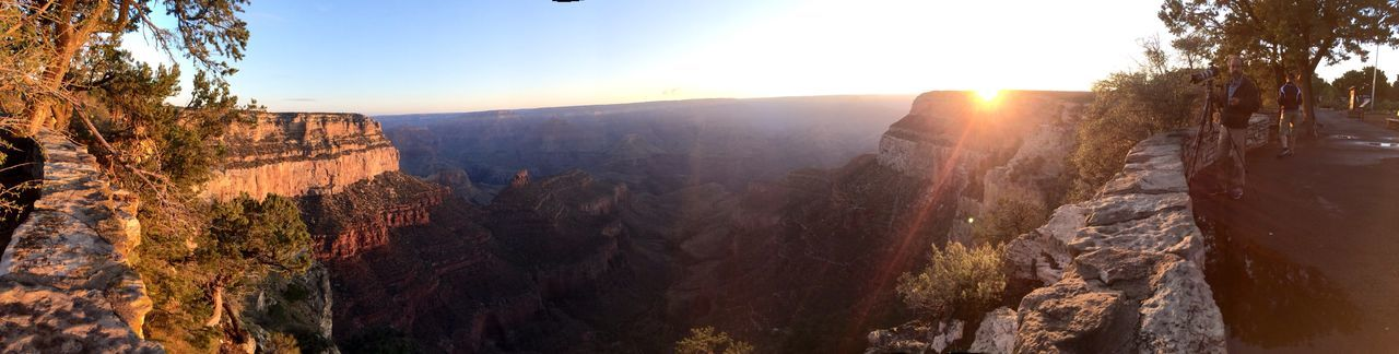 Beautiful stock photos of sunrise, Beauty In Nature, Clear Sky, Forest, Grand Canyon