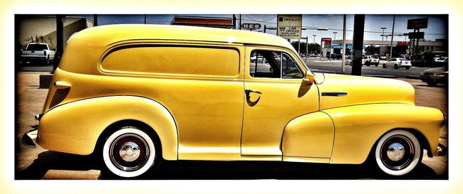 EE_Daily: Yellow Wednesday Cool Car Automobile