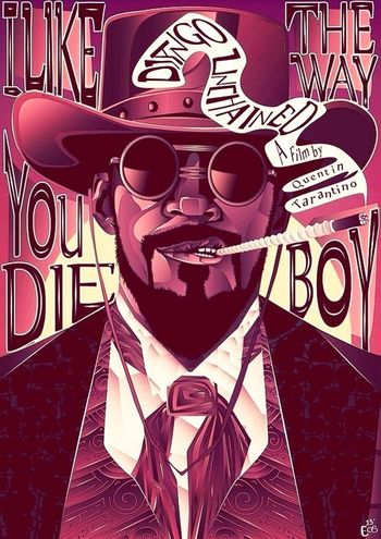 I thought this was pretty cool #DjangoUnchained