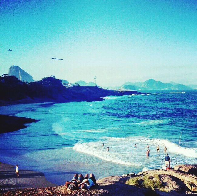Capture The Moment Arpoador beach sunset