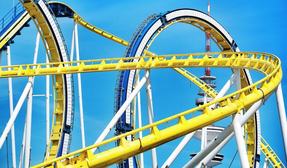 Beautiful stock photos of hamburg, Amusement Park, Amusement Park Ride, Arts Culture And Entertainment, Clear Sky