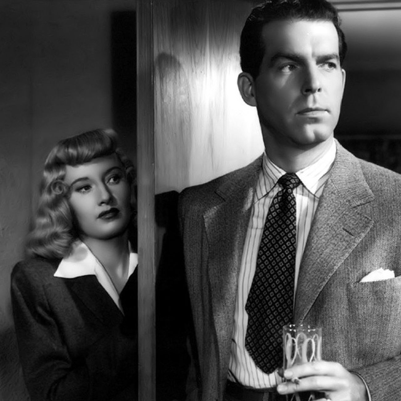 Tonight at midnight! Released on blu ray DoubleIndemnity BarbaraStanwyck FredMacMurray