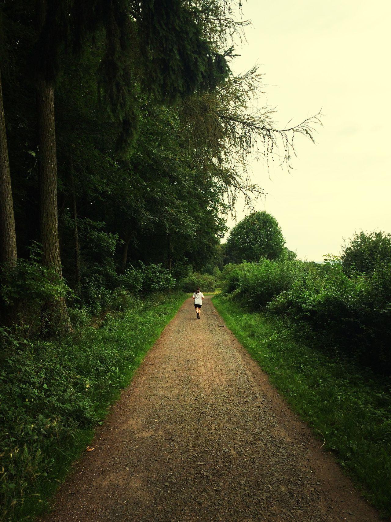 Wife's way ahead… #running #nikeplus