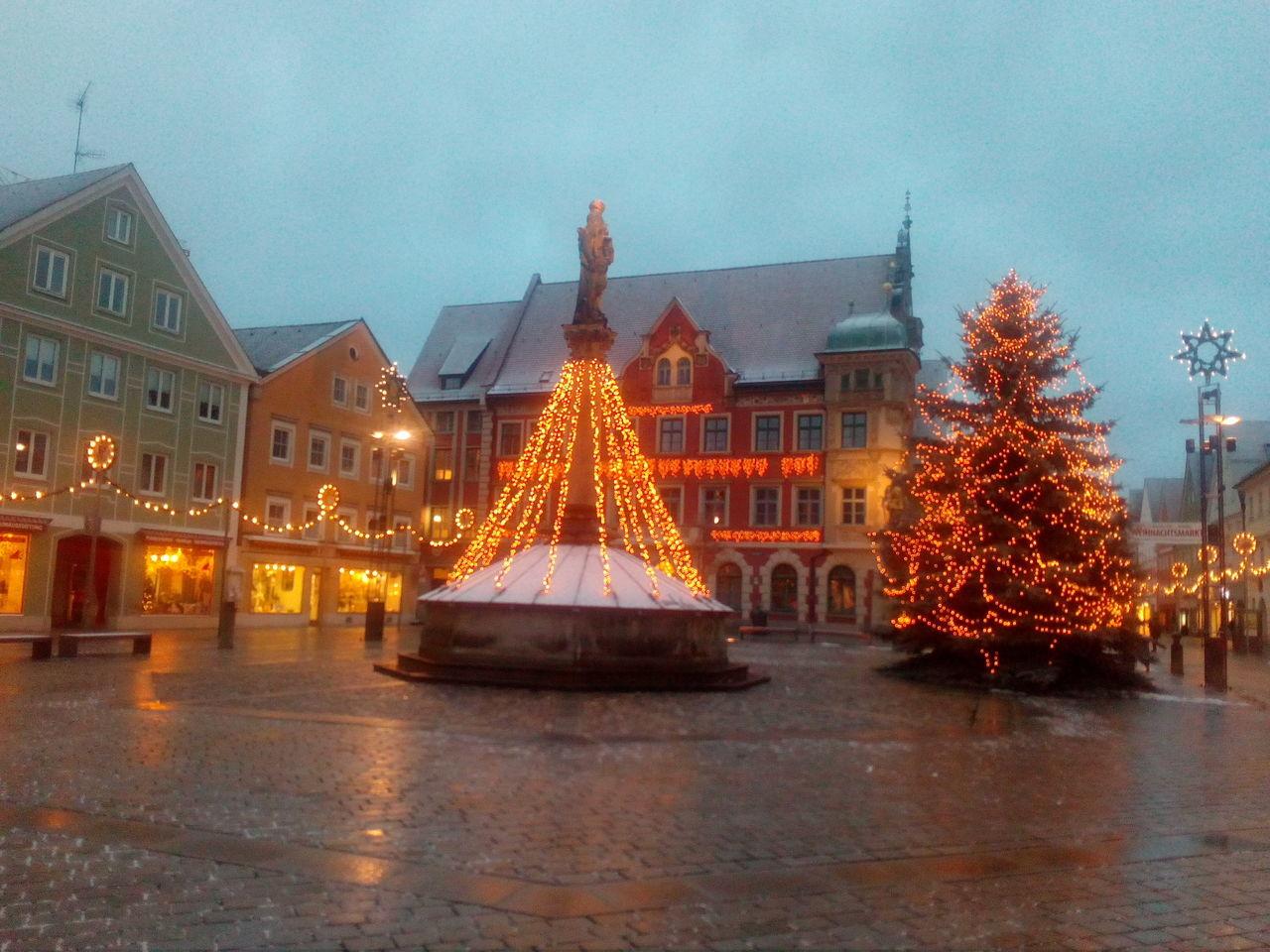 Christmas Decoration Christmas Tree Mindelheim
