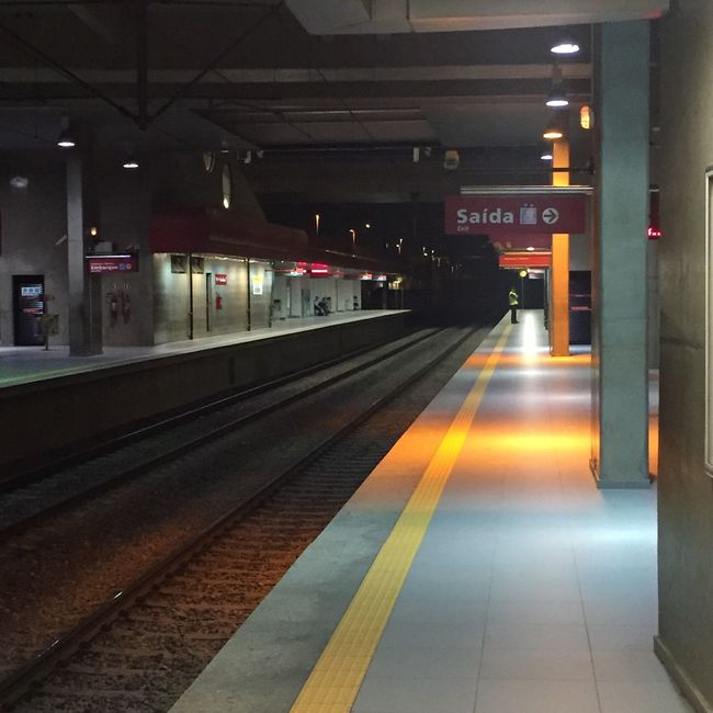 Metro Metro Station SP Brazil ❤ First Eyeem Photo