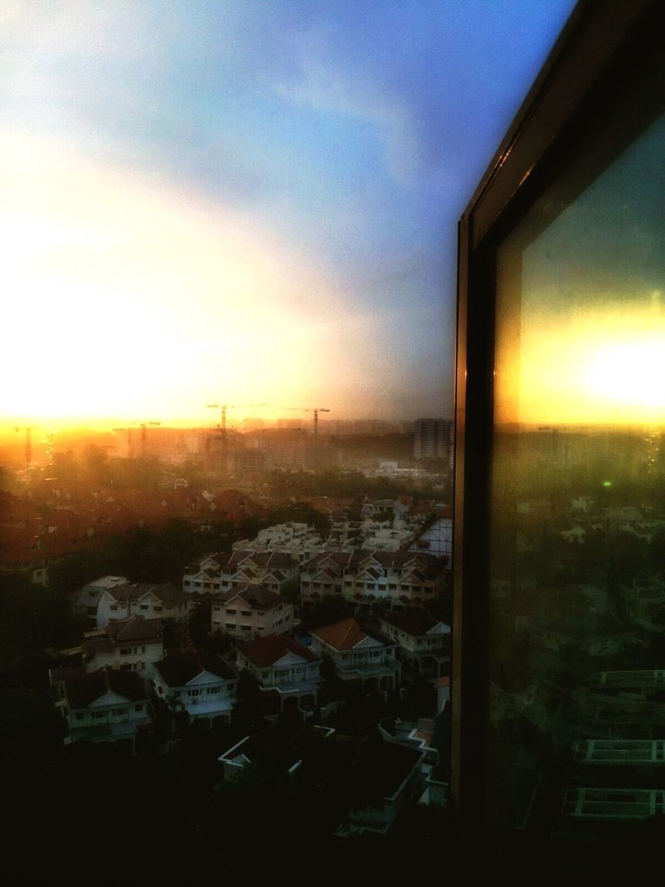 From my windows to start the day! Sunrise Brand New Day My Kind Of Mornings