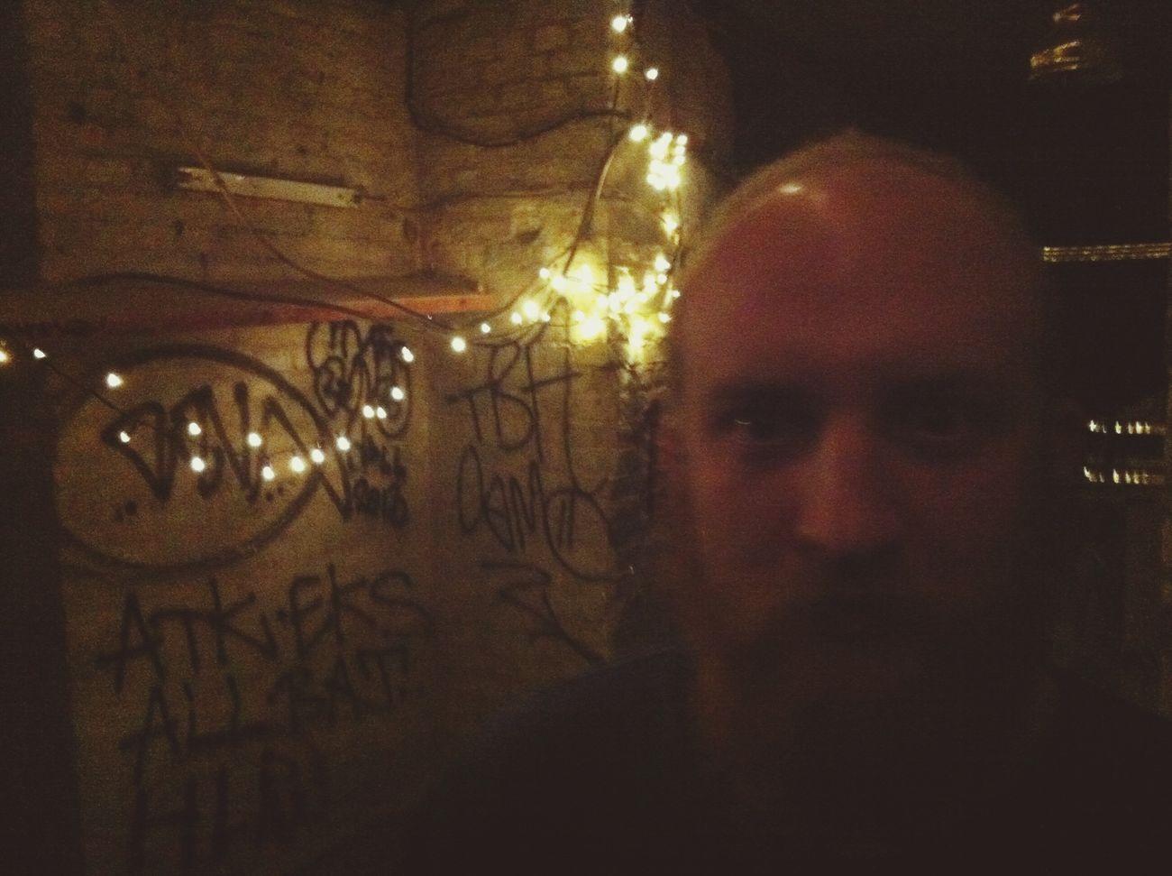 Redhair Beard & Christmas Lights