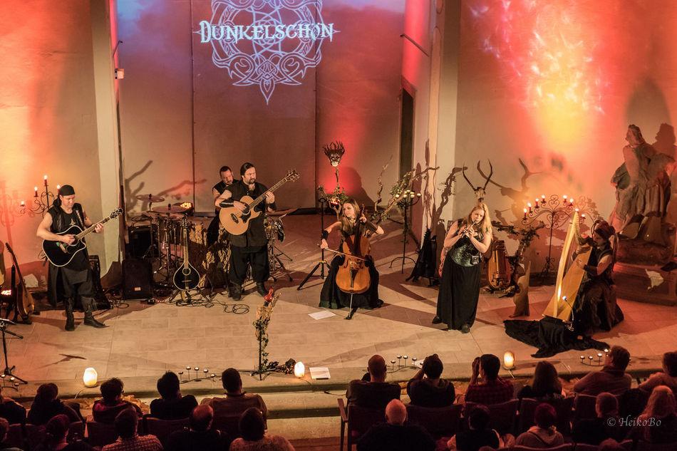 Dunkelschön ,Alte Kirche ,Schonungen Heikobo Dunkelschön Konzert Livekonzert Konzert2017 Schonungen