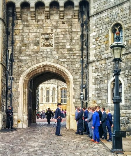 Real People Architecture Tourism Building Exterior History People Men EyeEmNewHere Windsor Castle Windsor Berkshire Travel Destinations Royalty Changing Of The Guard