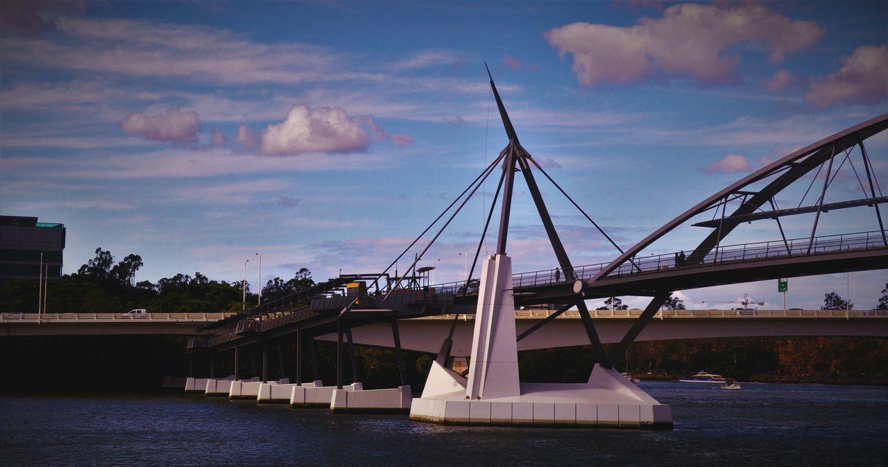 Eyem Gallery Goodwillbridge Brisbane River Nikonphotography NikonD5000 Cloudscape Bridges Riverside Riverscape Therivercity