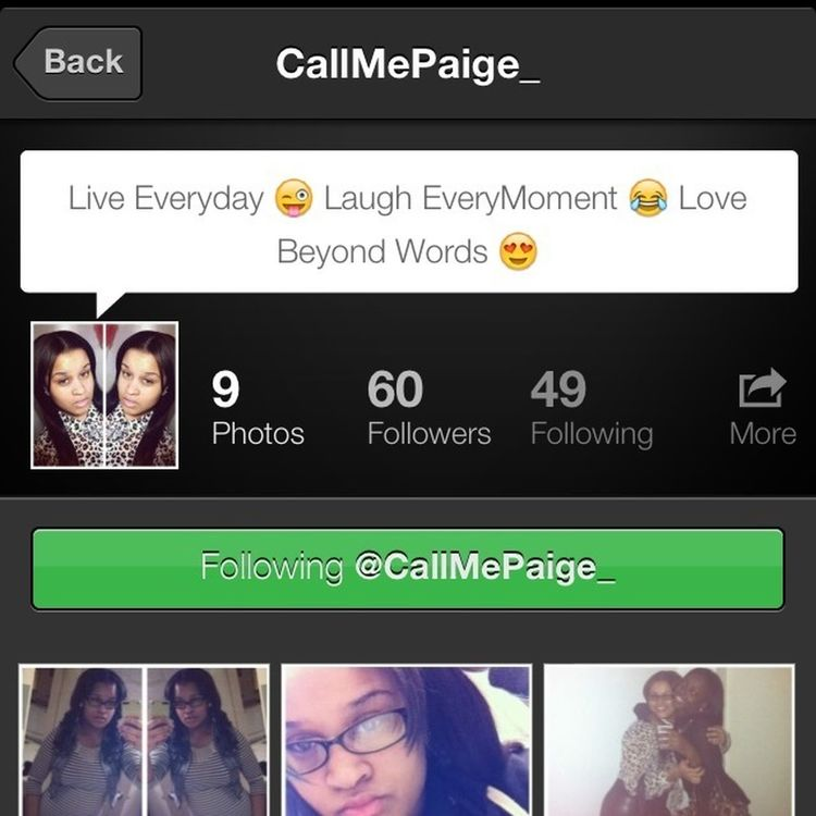S/o To CallMePaige , Yall Go Follow Her