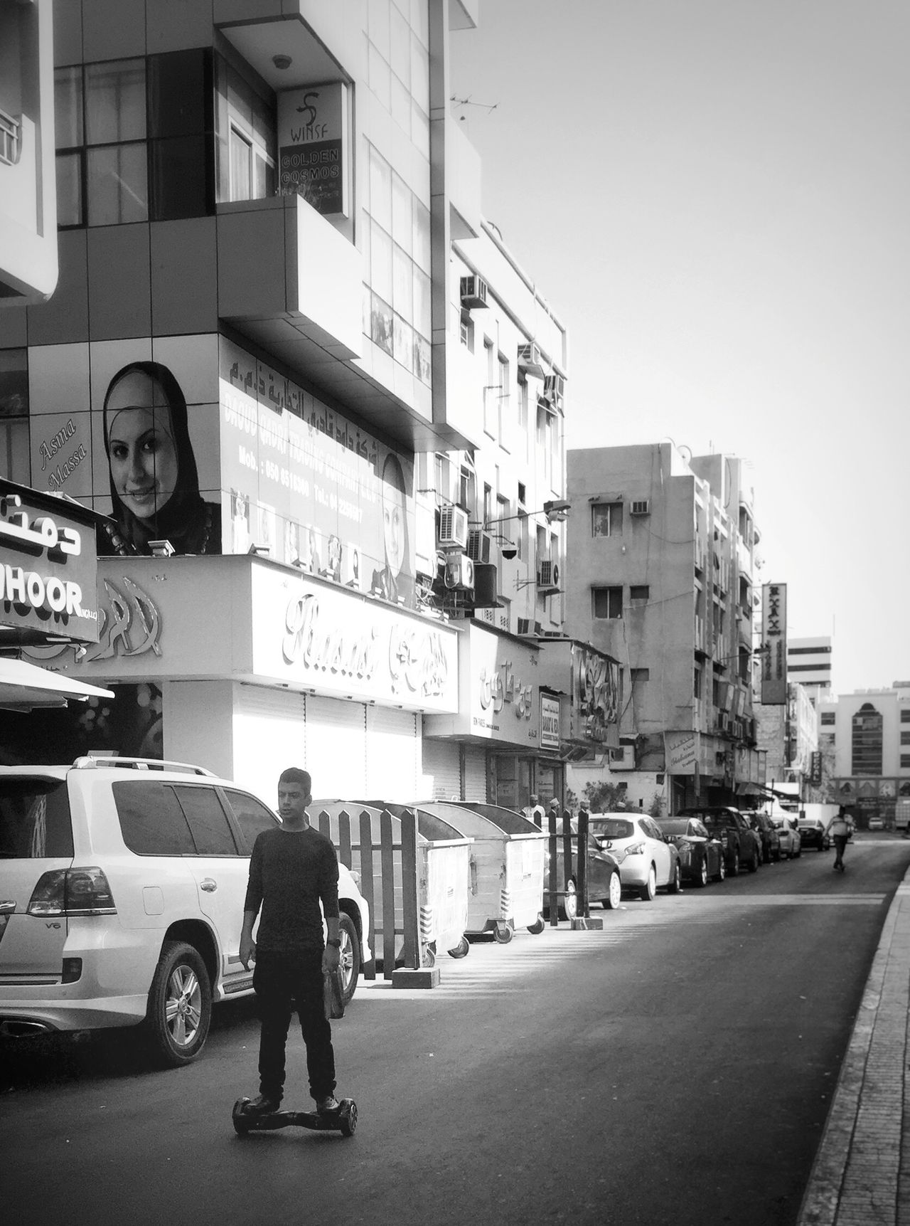 Monochrome Photography Street Scene