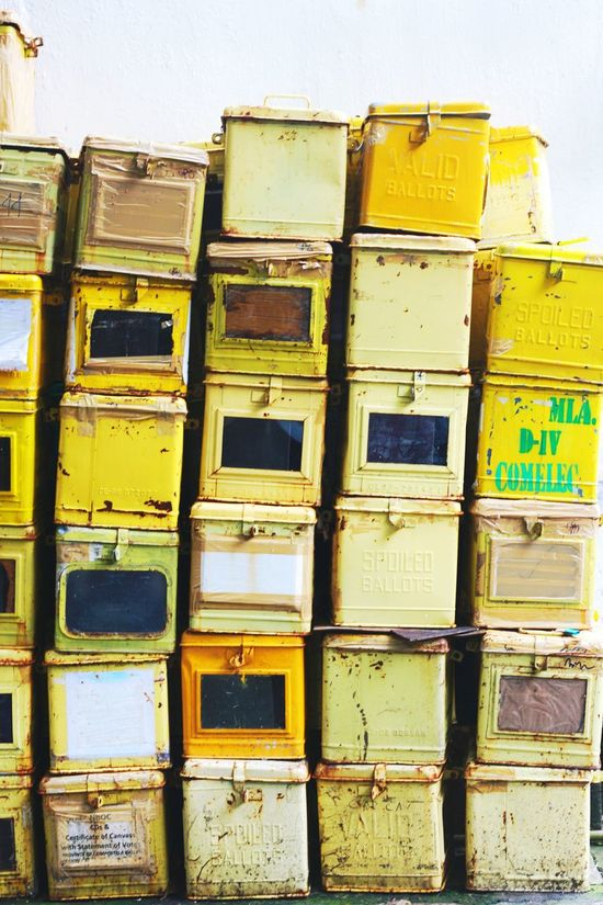 Pattern Pieces Ballot Boxes Yellow Patterns Patterns Metal Boxes Vote Votewisely Traditional Voting Elections Colour Of Life BYOPaper! Old Ballot Boxes Traditional Paint The Town Yellow