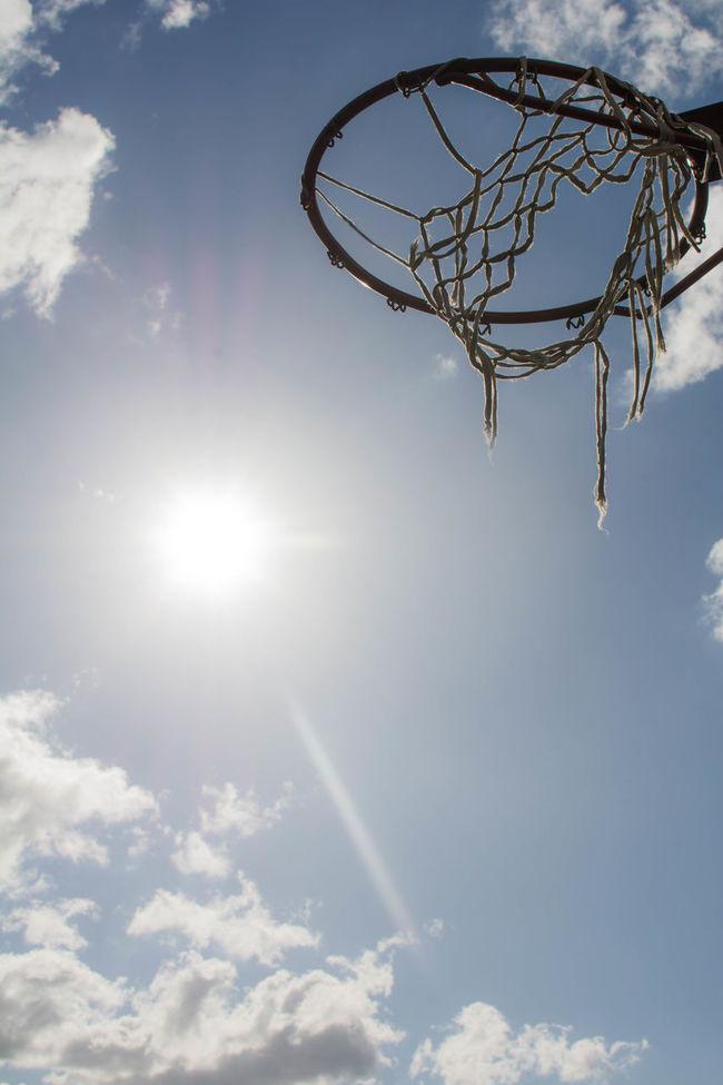"""from downtown ! "" Basket Basketball Basketballkorb Daylight Eye4photography  EyeEm Best Shots Himmel Und Wolken Light And Shadow No People Open Edit Park Fiction Silhouette Sky Sky And Clouds Sonne Sonnenschein  Straßenfotografie Streetball Streetphotography Sun Sunshine Taking Photos Urban Urban Nature Urbanphotography"