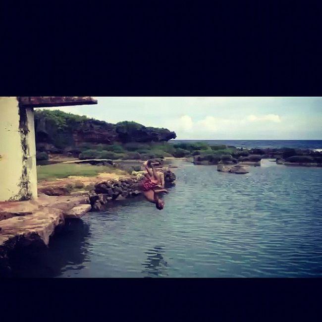イナラハン天然プール Sea Me Pool Guam 海 プール Hafaadai グアム Inarajan Inarajannaturalpool イナラハン天然プール