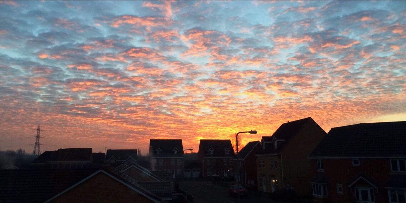 Sunrise Sky Morning Light Wolverhampton