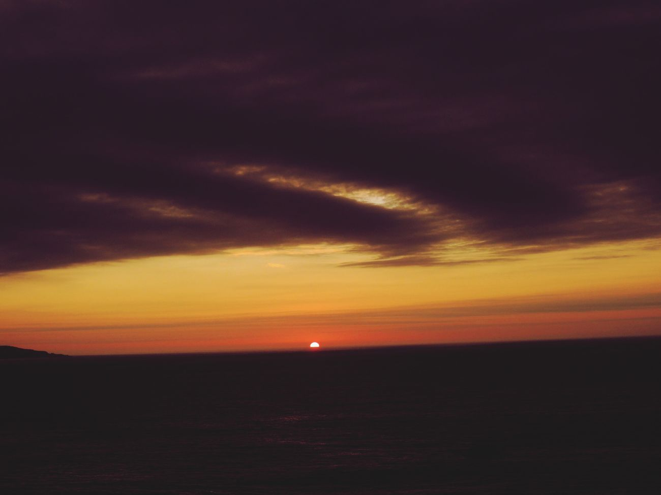 Sunset Today Sunset_collection Sunset #sun #clouds #skylovers #sky #nature #beautifulinnature #naturalbeauty #photography #landscape Sunset_captures Skyporn Cloudsporn Dramatic Sky Sea And Sky EyeEm Sunset How Do You See Climate Change? Reñaca Beach , Chile