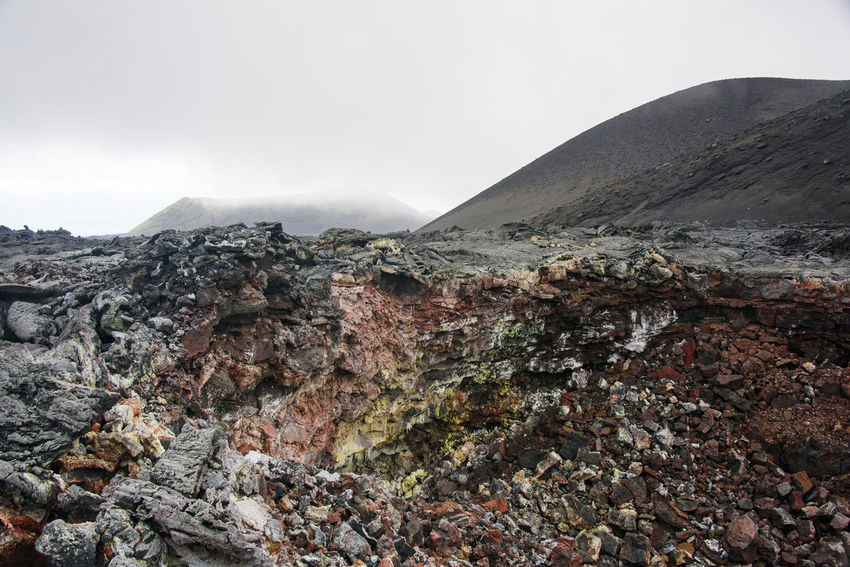 Old lava fields at Kamchatka Far East Kamchatka Lava Field Lava Fields Russia