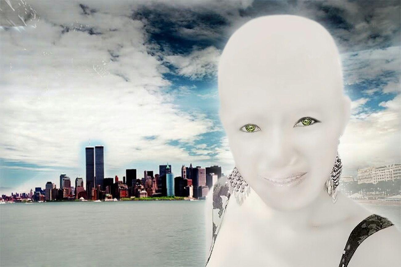 Future Beautiful Girl Robot Babe 3000