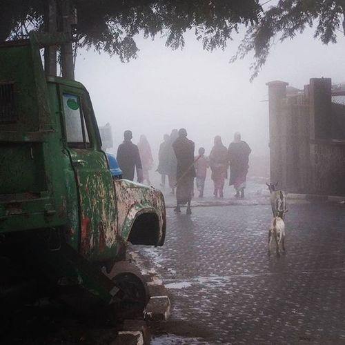 Foggy day in Arta...
