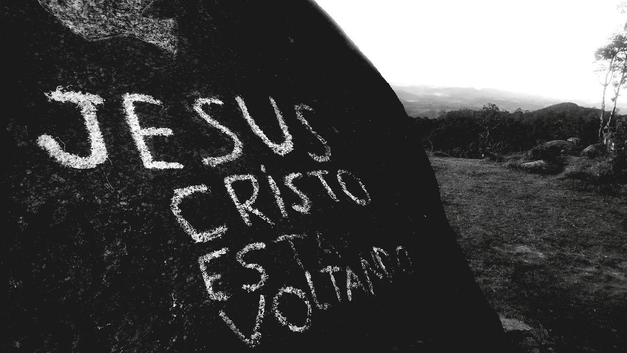 Jesus is coming back Text Communication Day Outdoors No People Close-up Tree Sky Nature Jesus Jesus Christ Jesus Christ My Savior