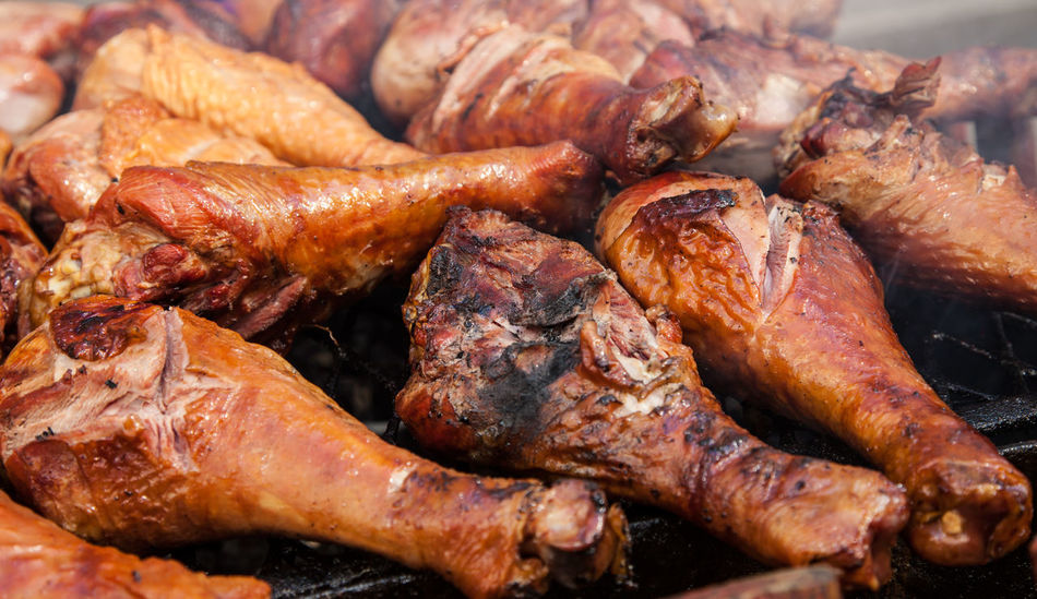 Beautiful stock photos of truthahn, Barbeque, Barbeque Grill, Close-Up, Day