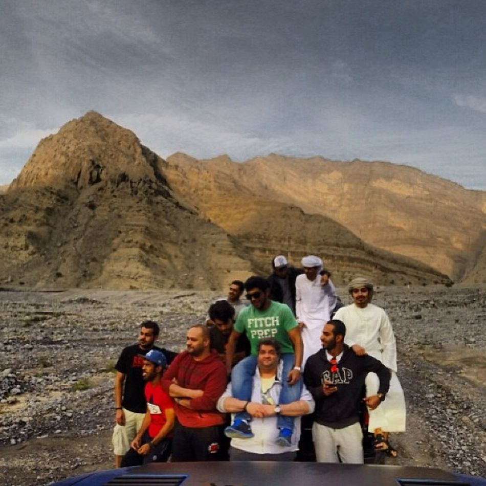 Rocky trail with the crew at one of RAK's wadi's ? Fordraptor Svtraptor Raptorsonraptors