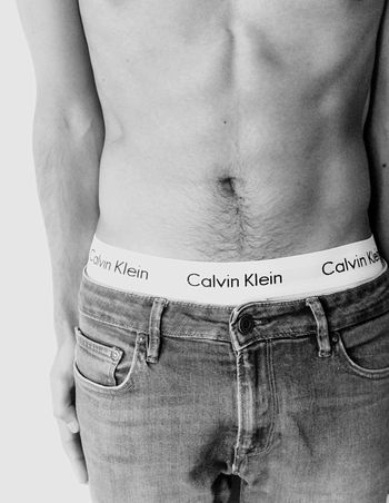 Body I White Background One Person One Man Only Only Men Adults Only Close-up People Young Adult Adult Modelboy Malemodel  Nude-Art Calvin Klein Human Hand Boxer