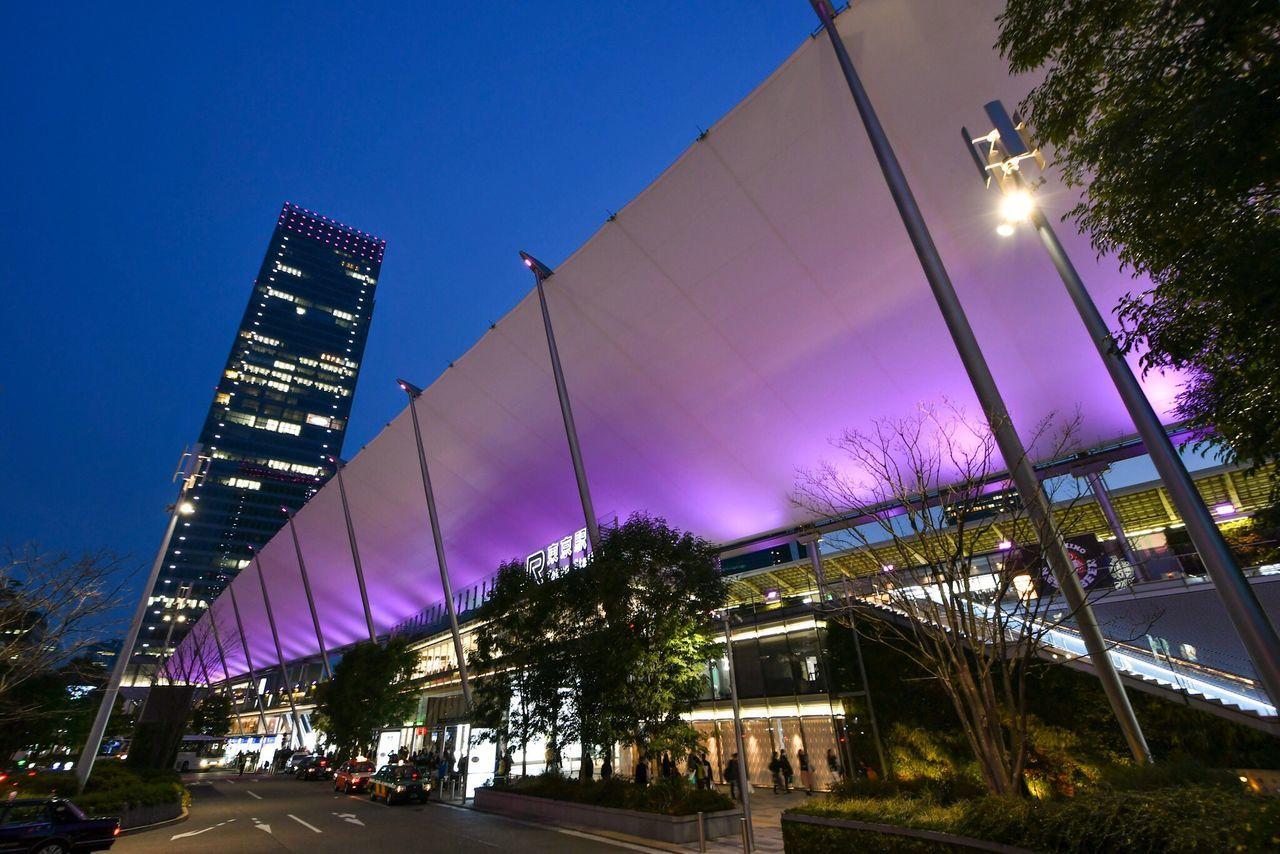 東京駅 3 Architecture Built Structure Building Exterior Night Modern Illuminated Station Tokyostation Japan Tokyo