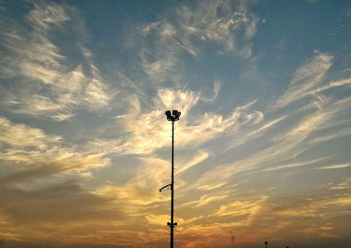Light the sky on fire Ablaze Sky Sunset Vscocam Goodshot Bcd This Week On Eyeem