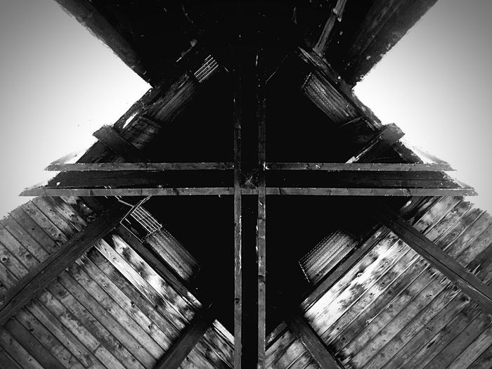 Gerendás Abstract Architecture Blackandwhite Sunday_flip Tower From My Point Of View Traveling Check This Out