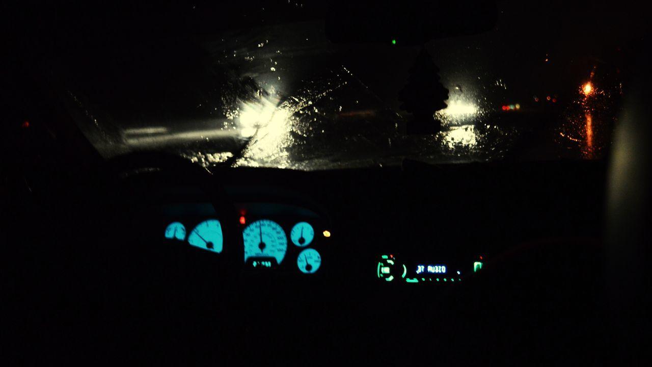 👁📸 Vehicle Interior Car Car Interior Transportation Dashboard Land Vehicle Night Control Illuminated Close-up Speedometer Mode Of Transport Gauge Steering Wheel Meter - Instrument Of Measurement Rain Windscreen No People Control Panel
