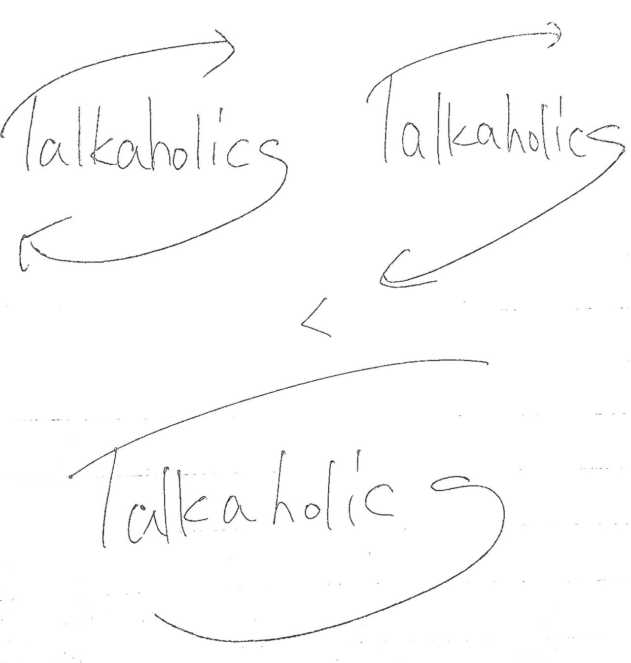 TALKAHOLICS Sketch No People Paper Science Day White Background Outdoors SWD Works