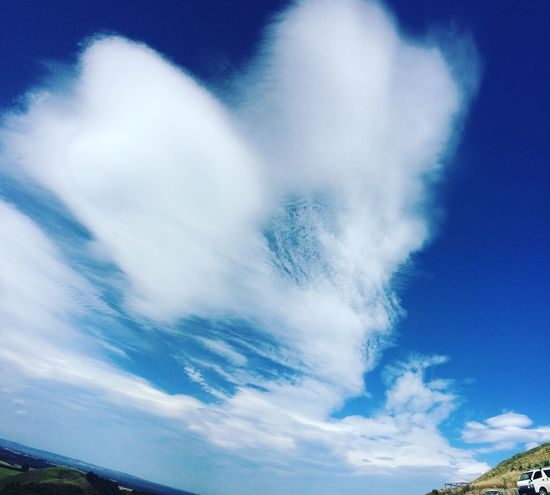Love is in the air Love is in the air Funky Clouds Blue Sky Giant Heart Cloudscape Heart Shape Heart Sky Blue Cloud - Sky No People Nature Beauty In Nature