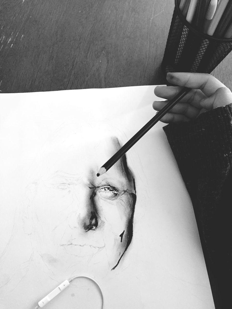 realizing now how important eyebrows are Blackandwhite Sketch Colorpencil Black Indian Nativeamerican  Mestizo Idfwu Art Artinprogress