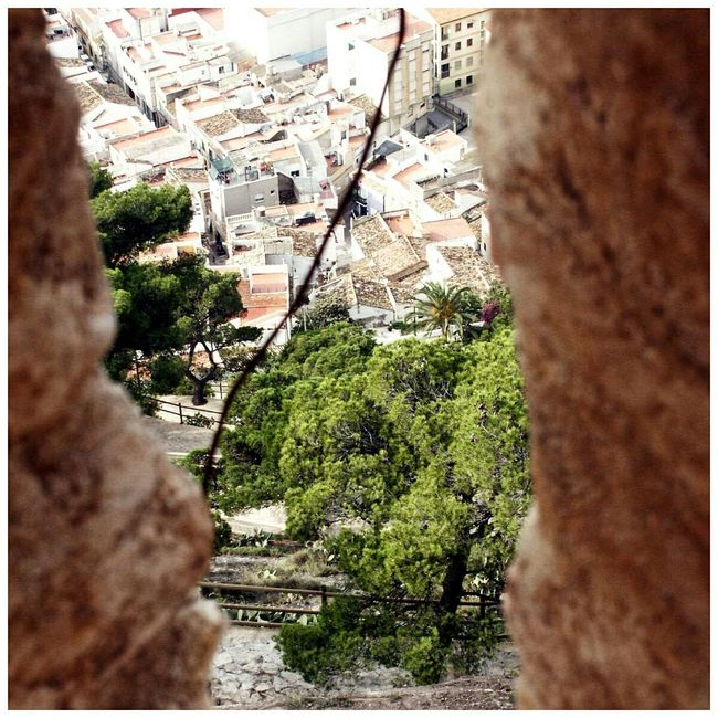 SPAIN Cullera Mountain View Square Format Lovers