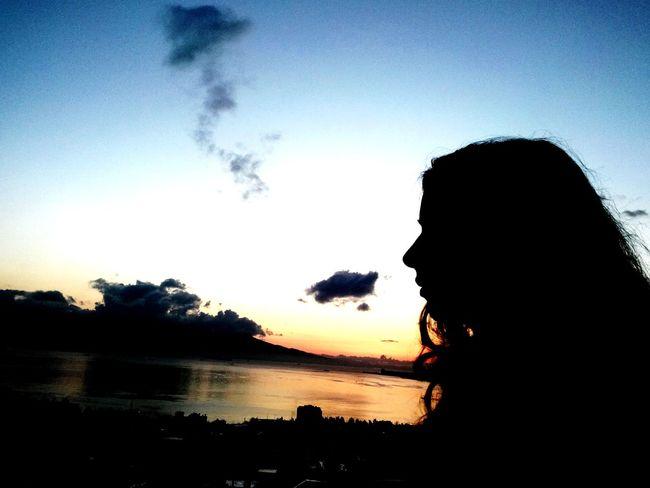A Beauty My Sister Sunset ı Like It 😉 Good Evening! Iyi Aksamlar!