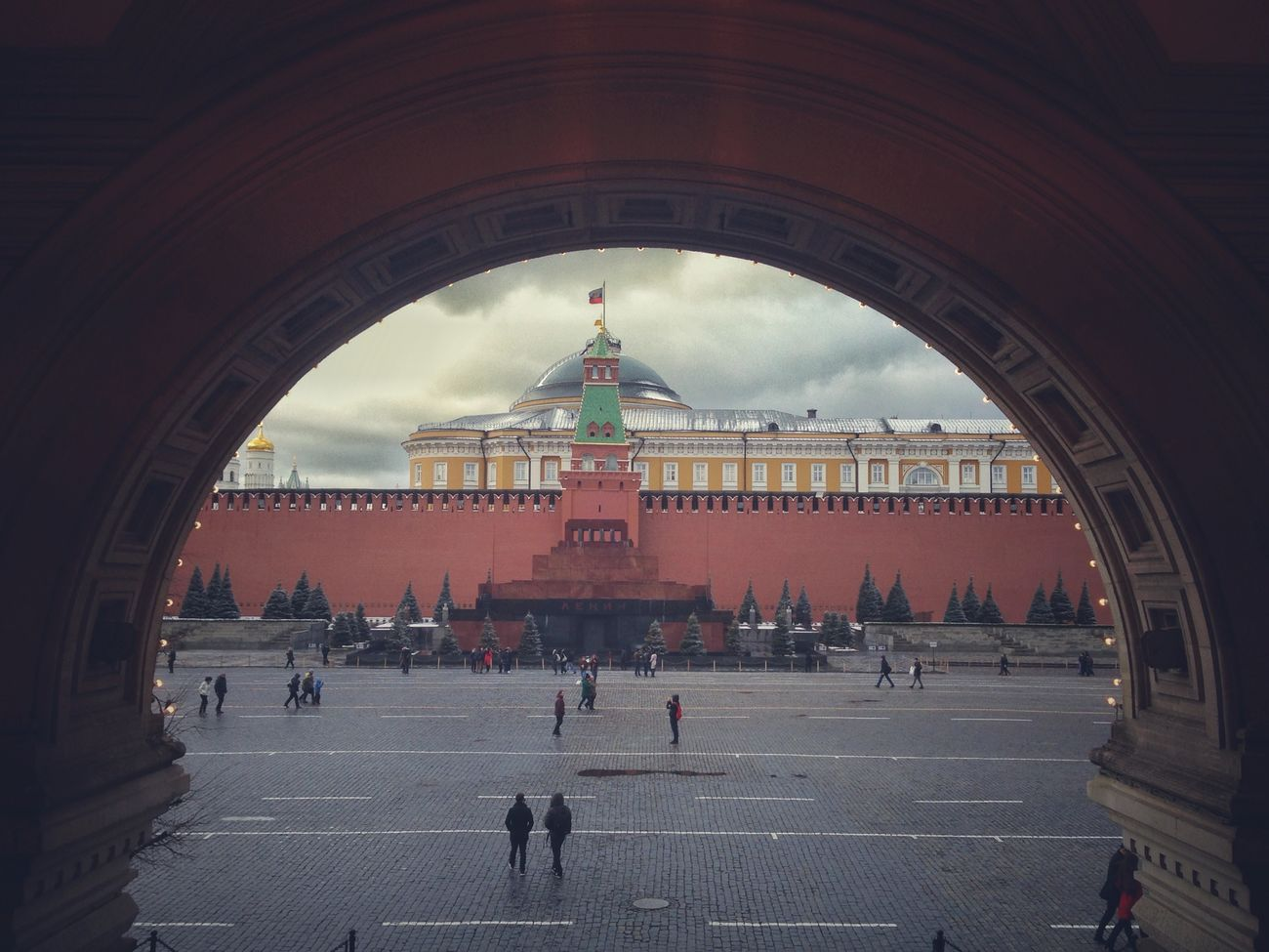 Moscow City Red Square VSCO