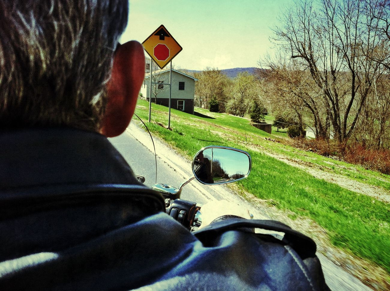 IPhoneography Motorcycle Ride