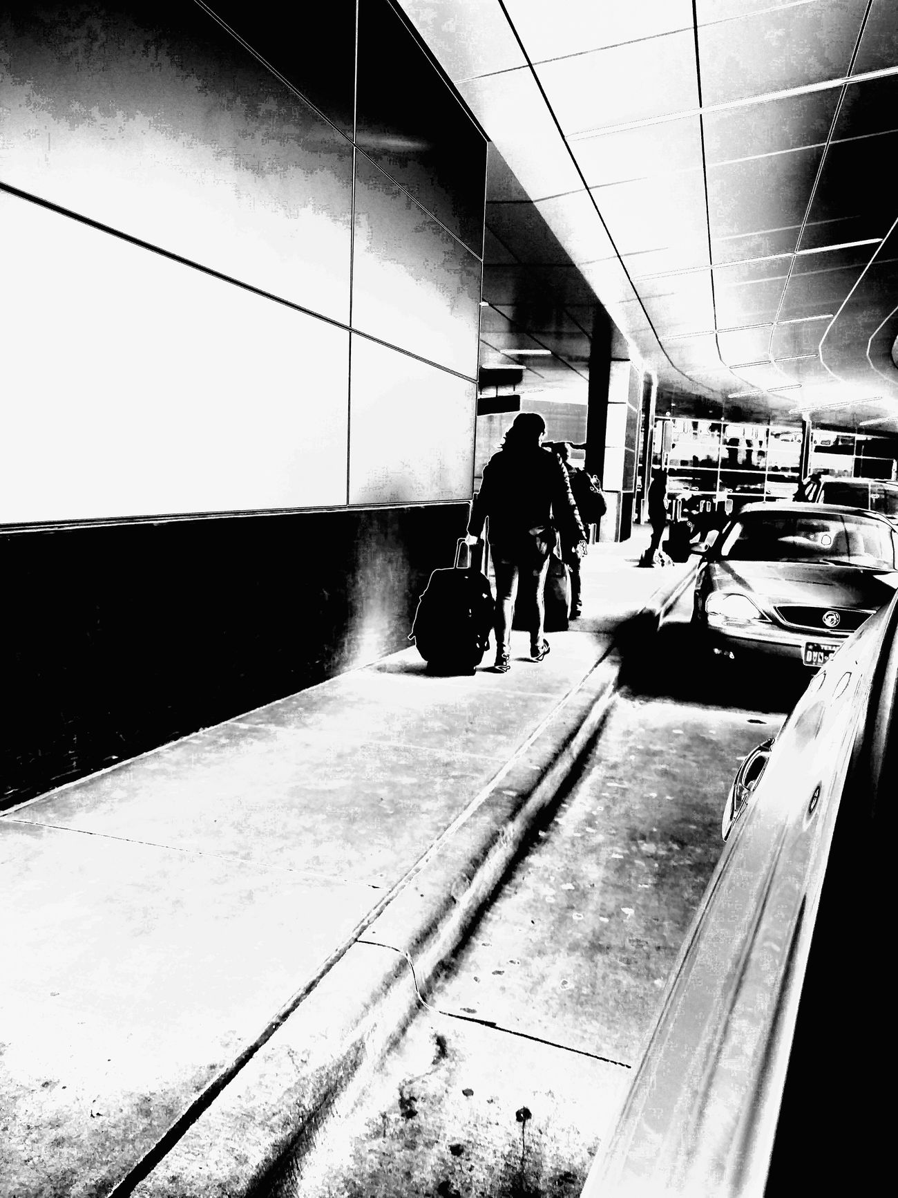 Deardeparting Real People Takingaway Separation Bleakness Blackandwhitephotography